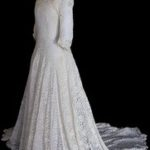 Walking through history exhibition: 100 years of wedding dresses